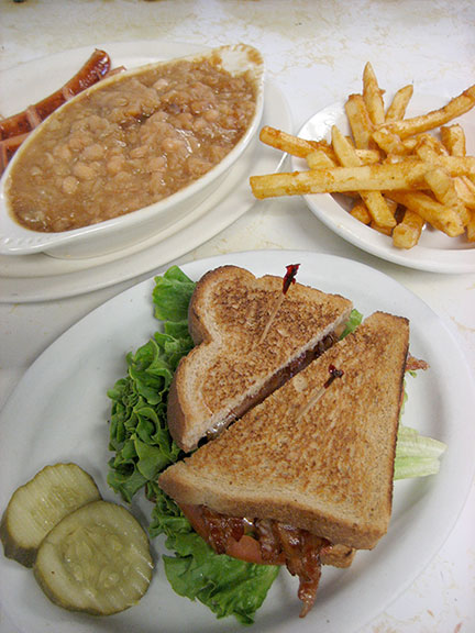 Enjoy home made American fare at reasonable prices.